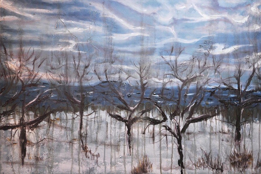 Winter. 24x36 inches, oil on canvas. 2010